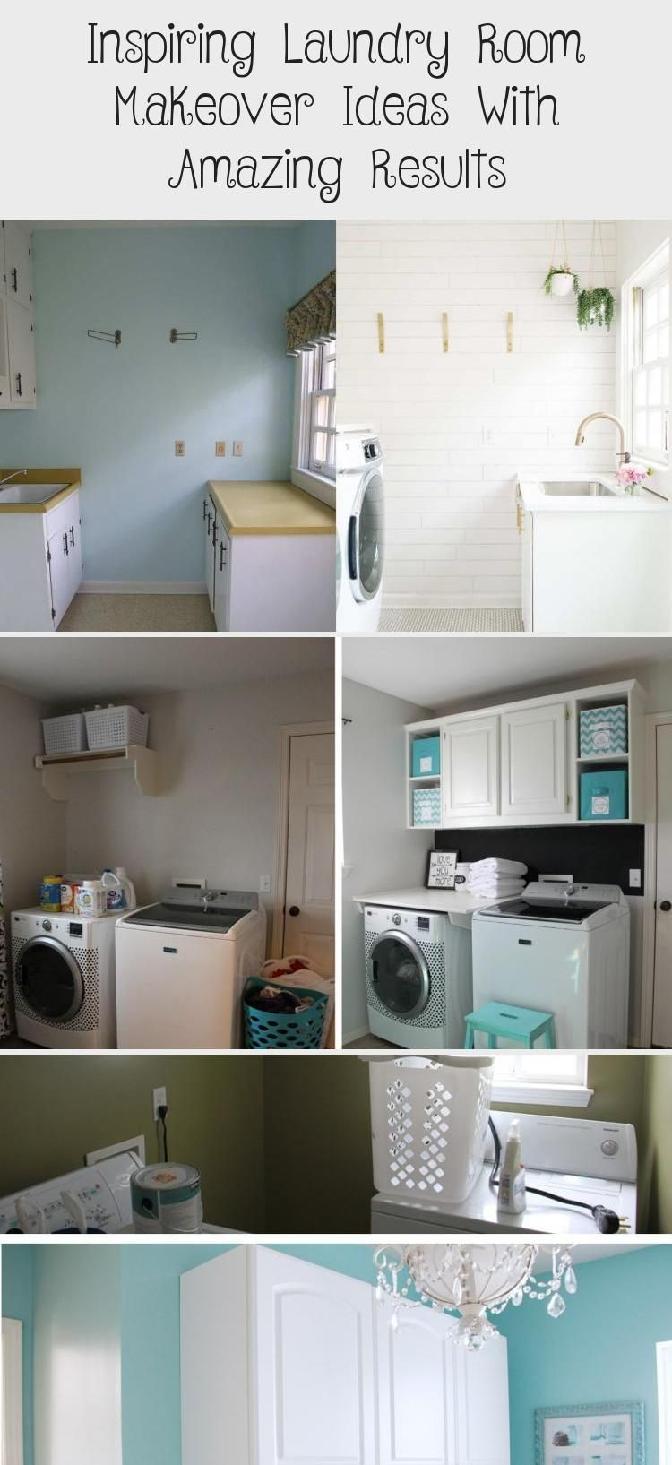 Huge laundry room makeover with pink door laundryroomIkea