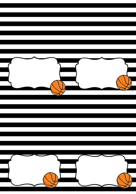 Basketball Themed Party Free Printables I Heart Arts N Crafts Basketball Theme Party Basketball Party Basketball Birthday Parties