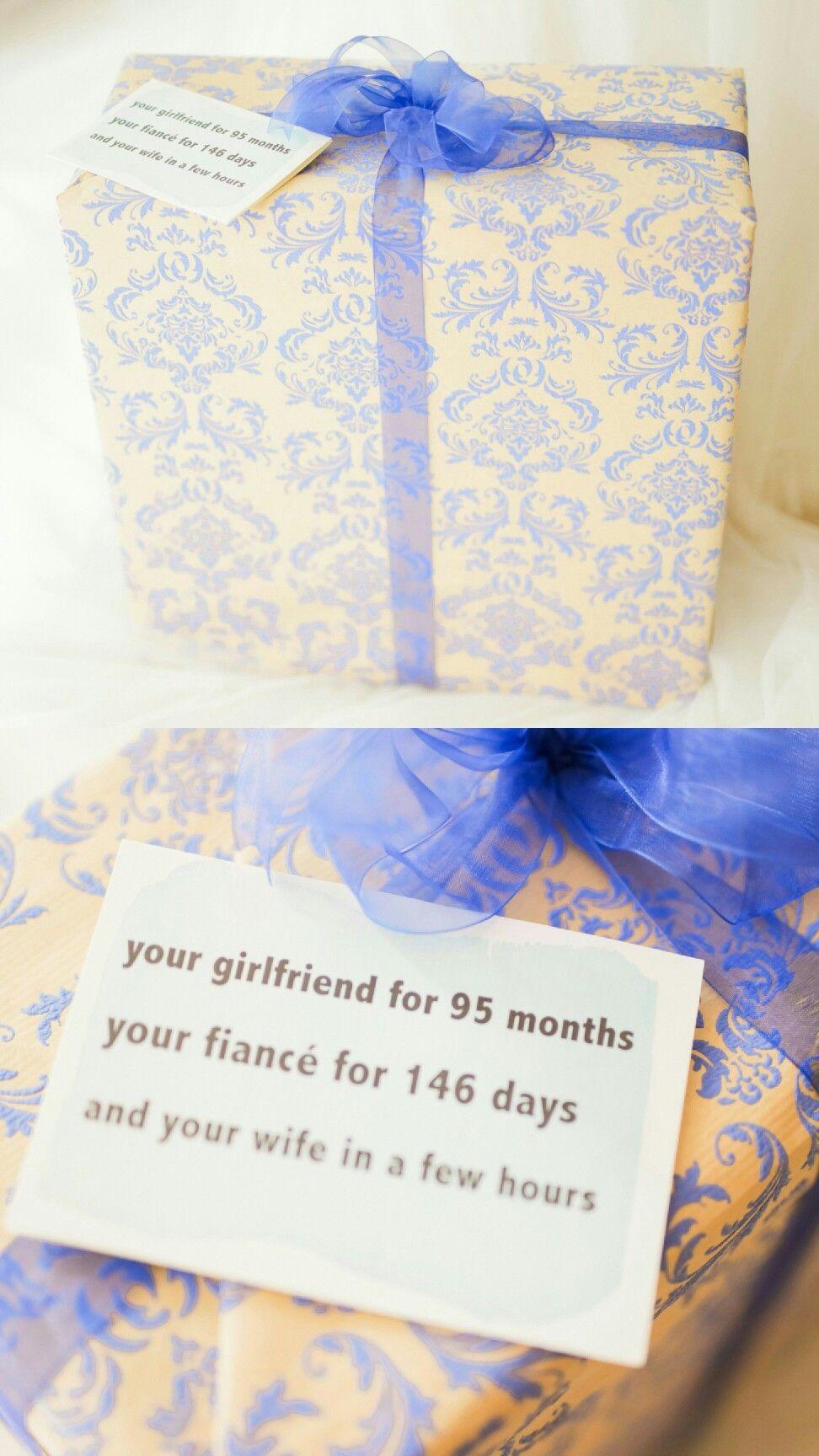 Gift For Groom Wedding Ideas Pinte