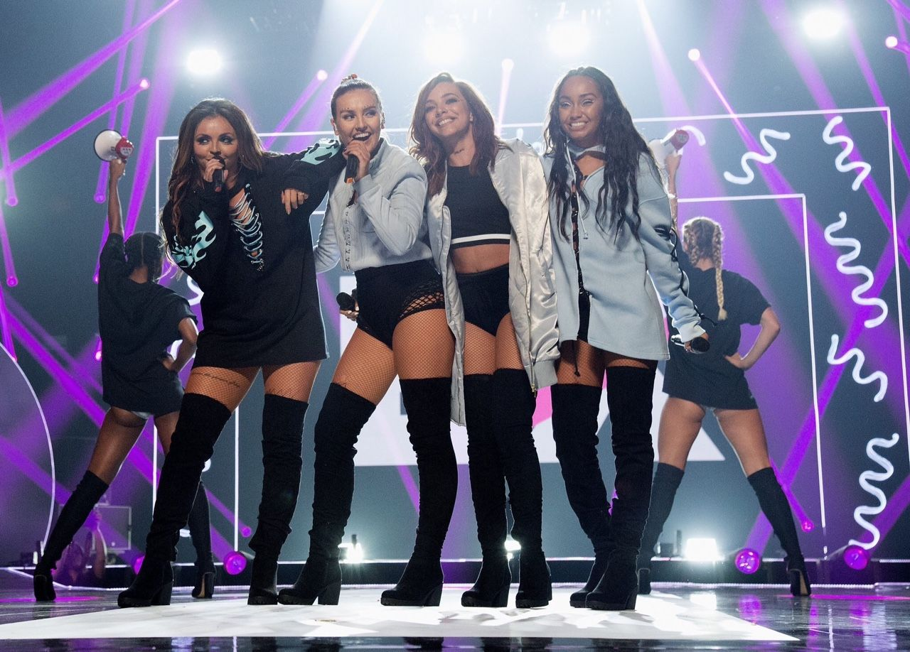 little mix performing at bbc radio 1 teen awards ~ october 23, 2016