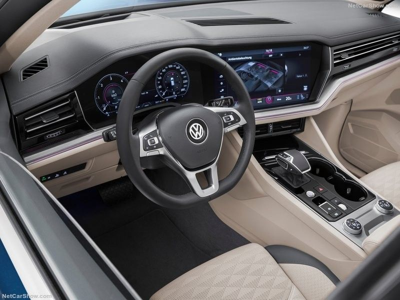 Volkswagen Touareg interior VolkswagenTouareg