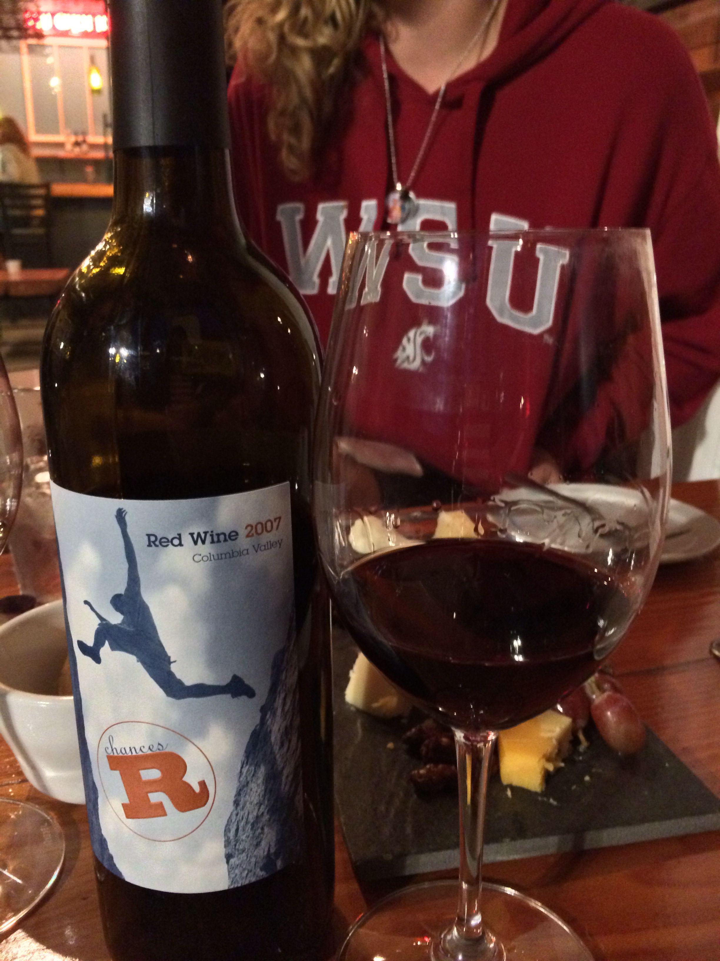Chances R Watermill Winery Walla Walla Wine Bottle Red Wine Alcoholic Drinks