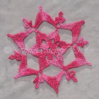 ❤~ Crochet ~❤ Snowflake Monday