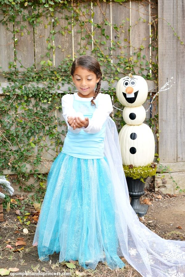 diy elsa costume easy last minute idea and can you get over how - Halloween Costumes Of Elsa