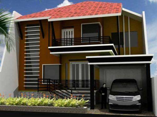 Desain Warna Rumah Yang Bagus