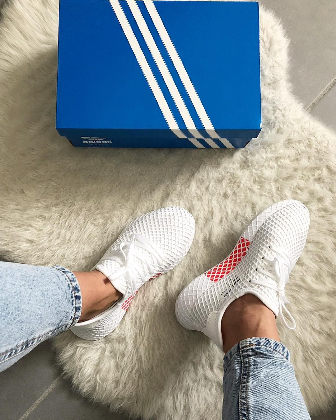 hot sale online 59d98 e641d Angesagte Sneaker, Sneaker Heels, Best Sneakers, Adidas Sneakers, White  Sneakers, Shoes