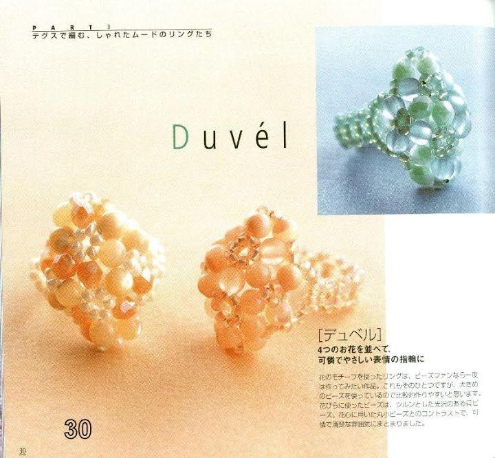 Elegant beads ring - Maite Omaechebarria - Álbumes web de Picasa