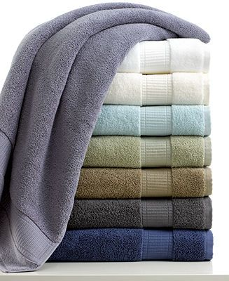 Calvin Klein Plush Bath Towel Collection - Bath Towels - Bed & Bath - Macy's