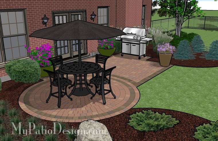 Small Spaced Patios | Patio Designs and Ideas - //www ... on florida backyard deck, florida backyard pools, florida backyard landscaping ideas,