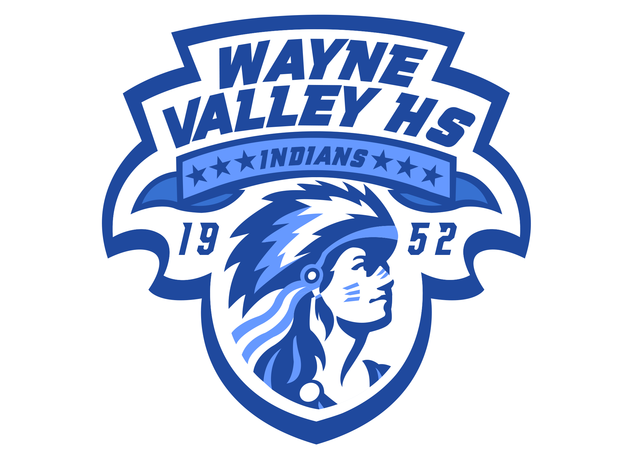 Wayne Valley High School Indians Wayne/NJ | Sports logo ...