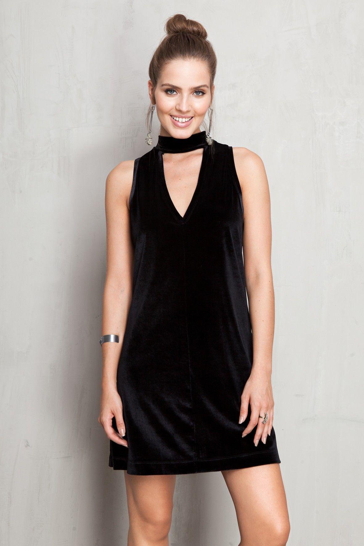 0f9c8620c vestido gola alta decote v | Dress to | Vestidos | Vestido gola alta ...