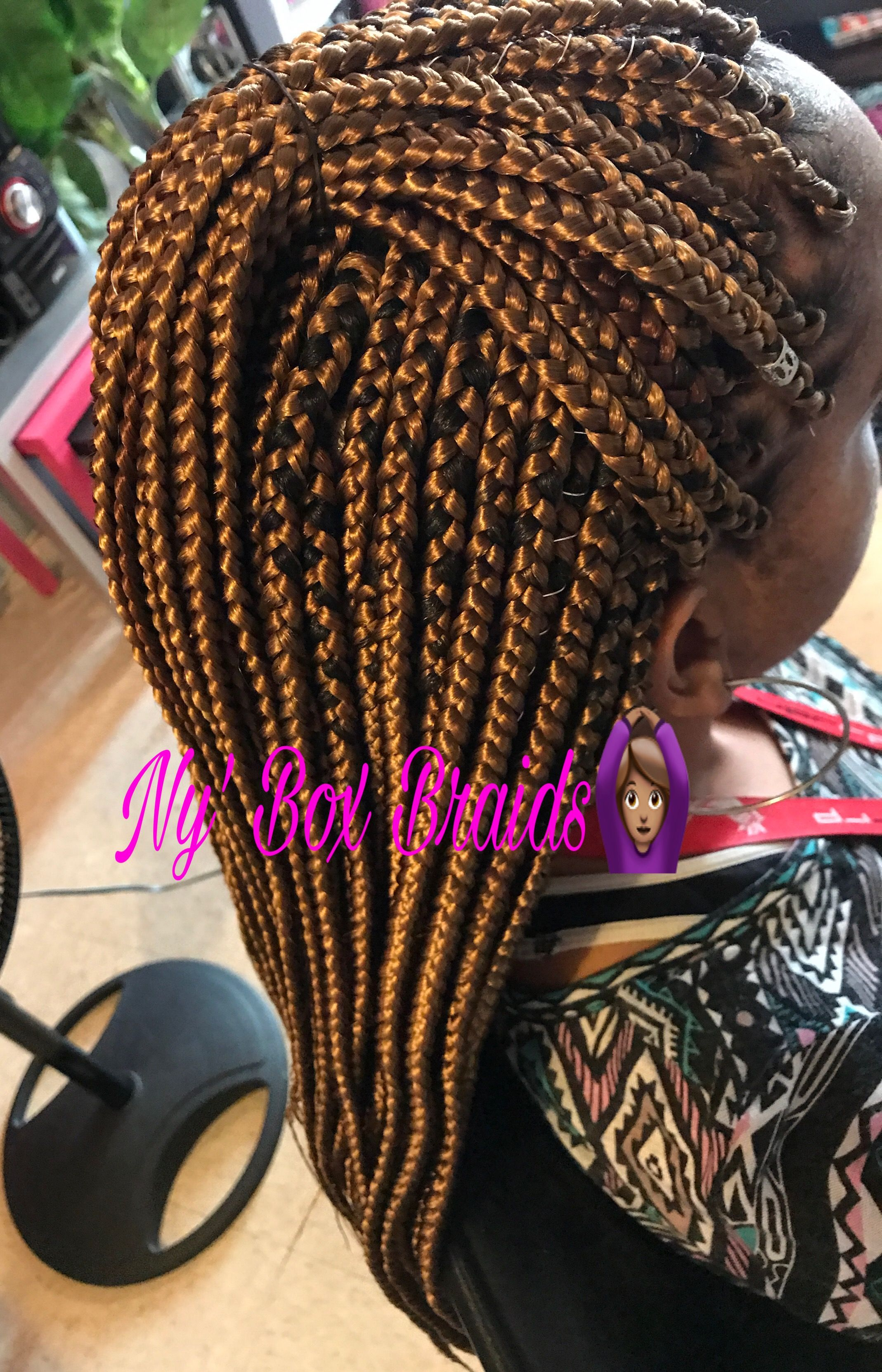Pin by Ny Fashiion on Box braids by me