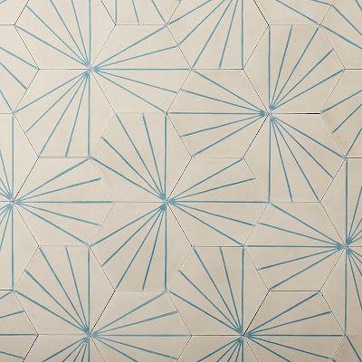 Cabane K murs Pinterest Cabanes, Palmiers et Carrelage de ciment - Peindre Du Carrelage De Sol