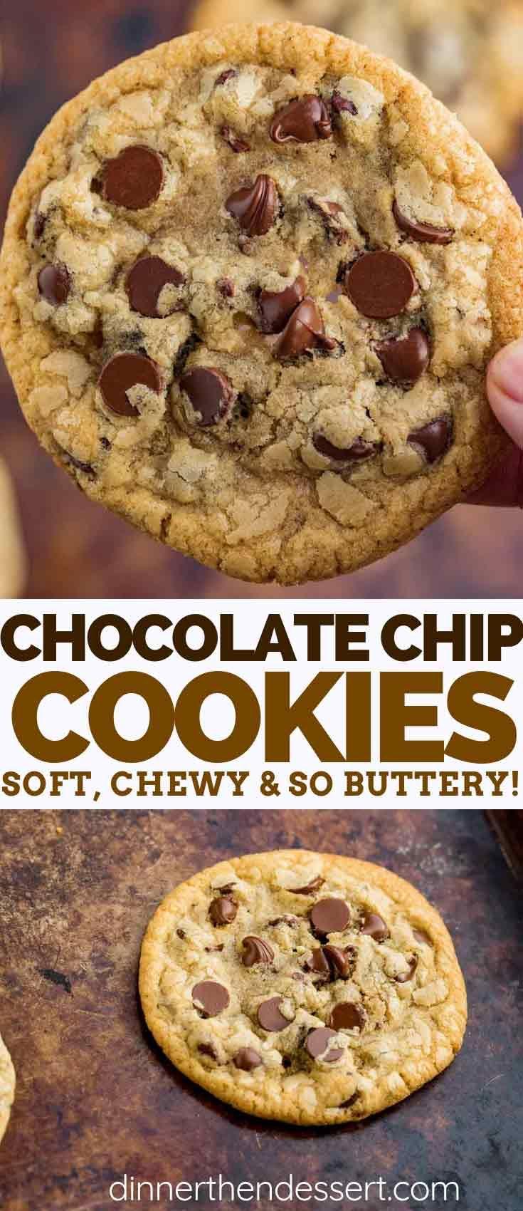 Chocolate Chip Cookies - Dinner, then Dessert