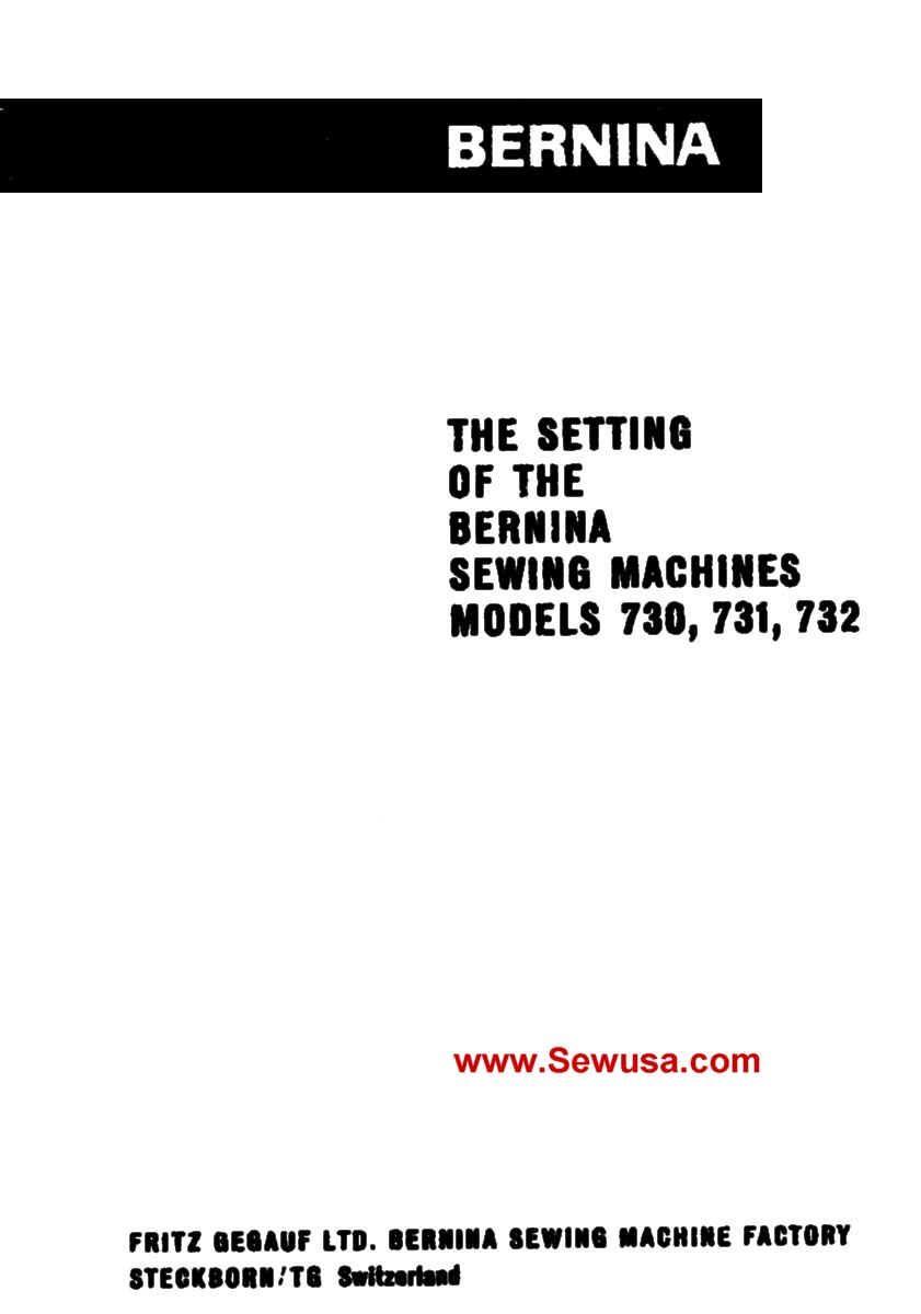 medium resolution of bernina 730 record service manual costs sewing machine service sewing machines