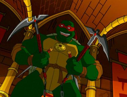 Tmnt 2003 Raphael Ninja Tribunal Cartoon Turtle Cartoon Shows