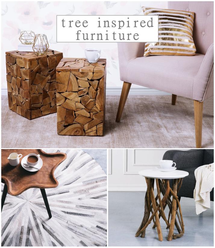 Tree Inspired Furniture By Beliani Odkryj Nasze Inspiracje