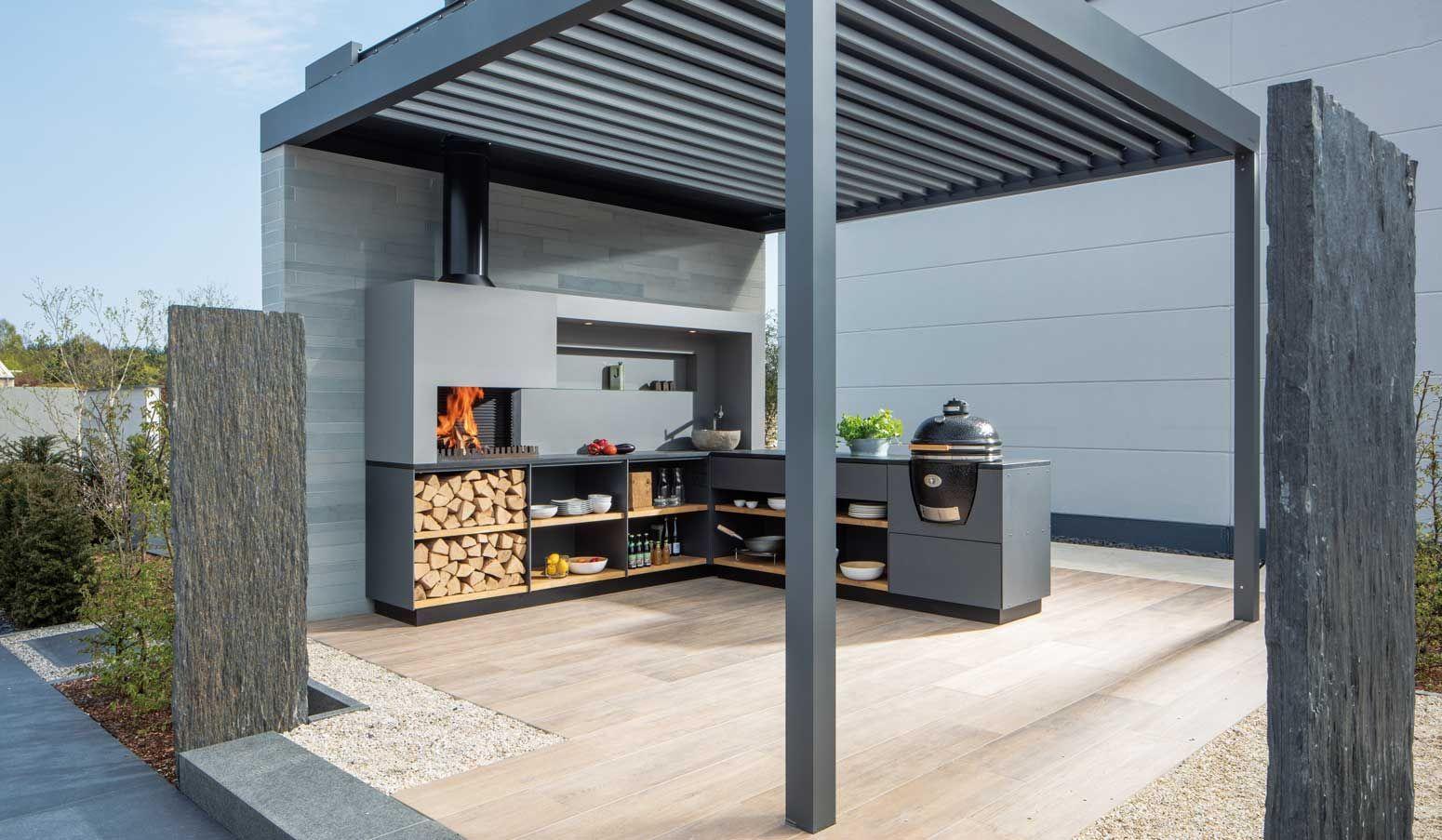 Freiluftkuche Die Modulare Outdoor Kuche Outdoor Kitchen Ideas