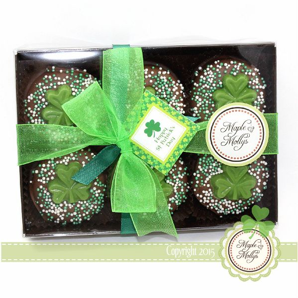 St Patrick's Day Gift Box Oreos - click to enlarge