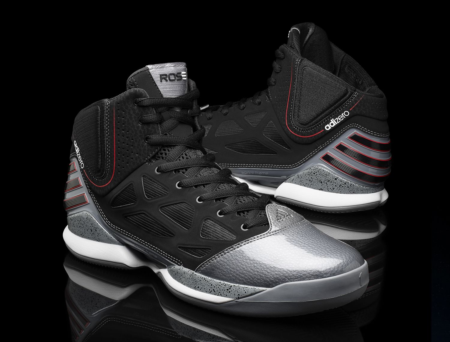 promo code c4f74 ca108 Next pair of basketball shoes. Derrick Rose For adiZero Rose 2.5 Pair To  The NBA Playoffs ~ A Taste Of Goodness