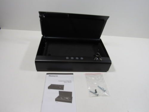 SentrySafe Pistol Safe Quick Access Gun Safe With LED Interior Lights QAP2EL