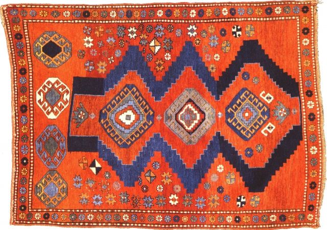 The Ful Eal Of Old Tribal And Village Rugs Like This Antique Caucasian Piece