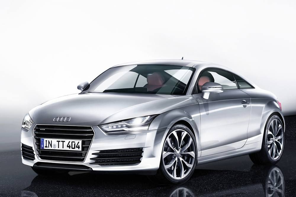 The Audi Tt Rs 2014 Was First Unveiled As A Concept Car In 1995 The