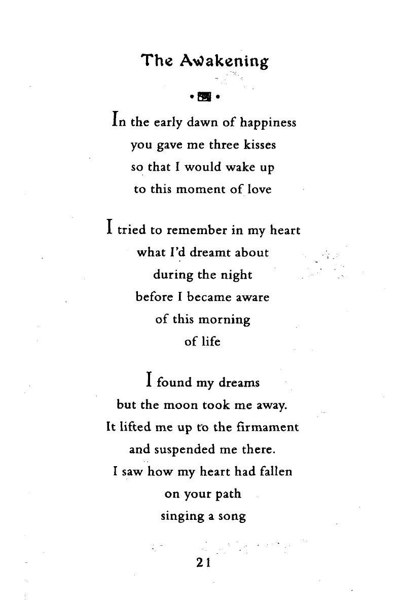 The Awakening Rumi Poem Love Poems Rumi Love