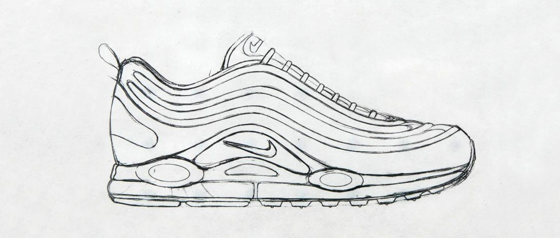 Sneaker Sketch Of The Week Christian Tresser's Nike Air