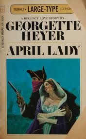 April Lady Georgette Heyer The moonlight glinted on the ...
