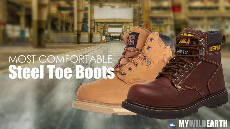 Most Comfortable Steel Toe Boots For Men Steel Toe Boots Mens