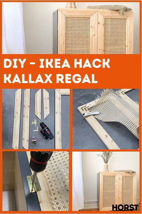 DIY-Ikea Hack Kallax Regal