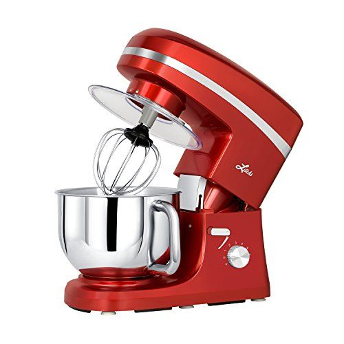 Stand Mixer 6 Speed 4 5 Quart Stainless Steel Bowl