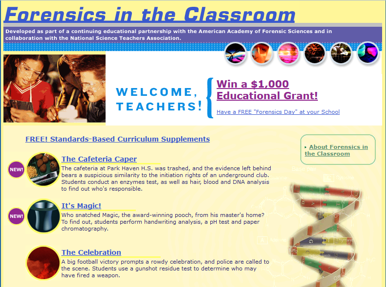 Free Forensic Science Units | High school students, Student and ...