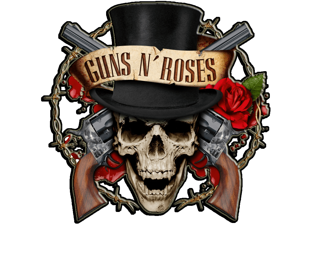 GUNS N ROSES SET OF THREE MUSIC SEW//IRON ON PATCHES: