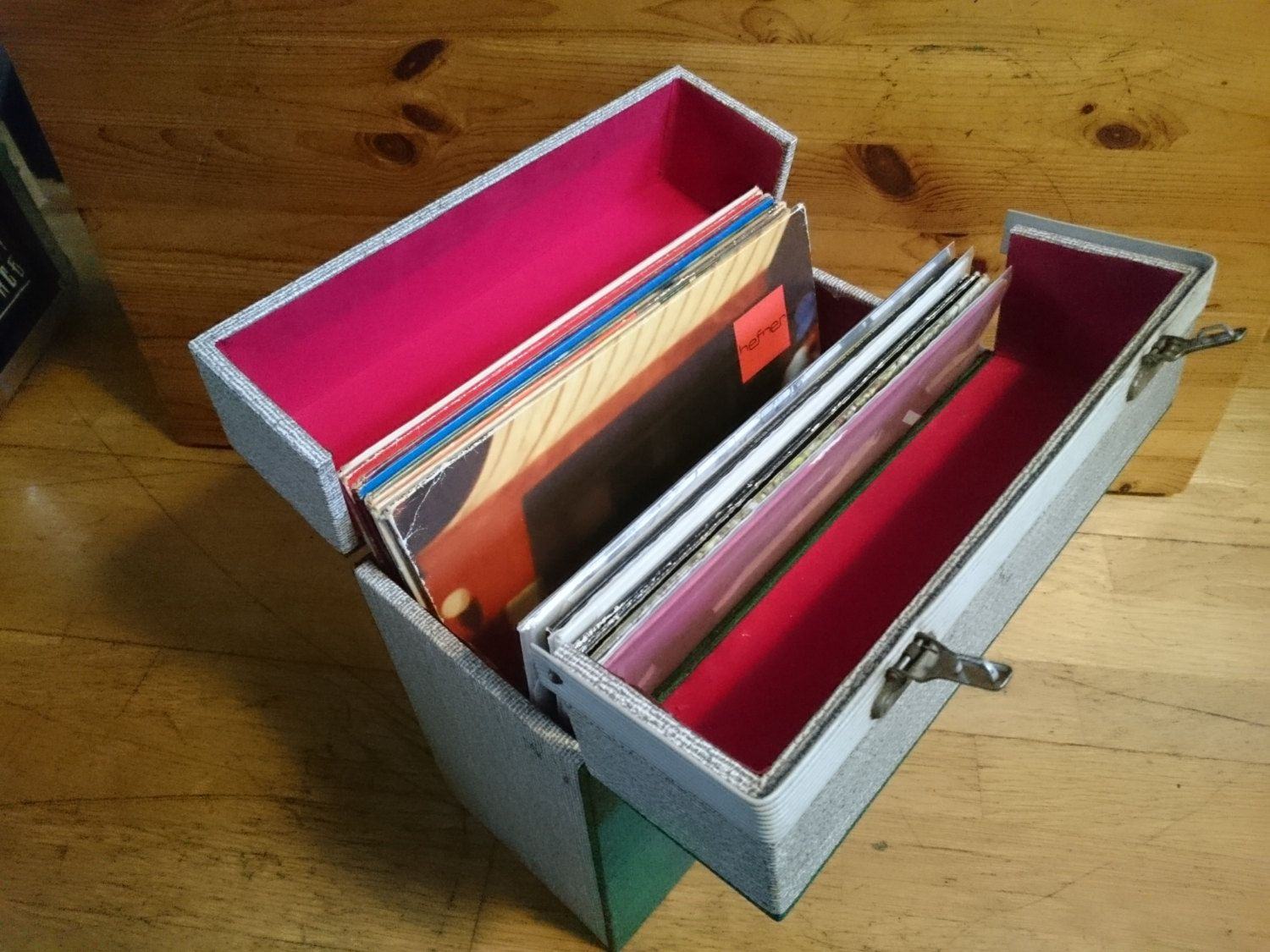 how to store vinyl records without covers