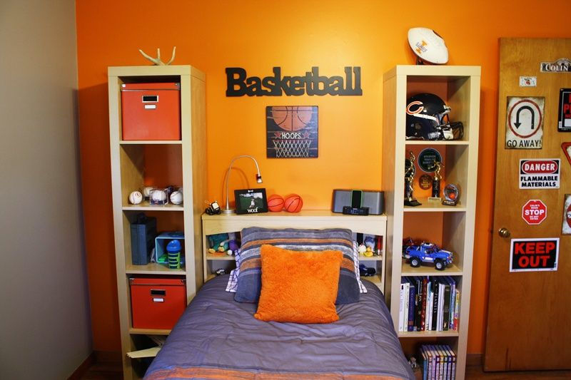 Cool Basketball Rooms My Sweet Single Life The Surprise Basketball Room Boys