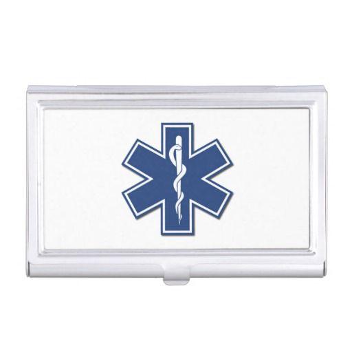 Ems emt paramedic business card holder personalized business cards ems emt paramedic business card holder personalized colourmoves Image collections