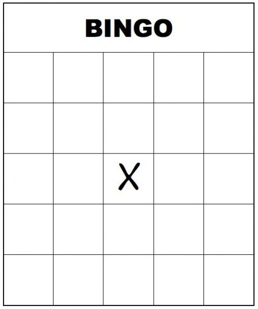 Free Printable Bingo Cards for Kids and Adults Blank bingo cards - blank jeopardy template