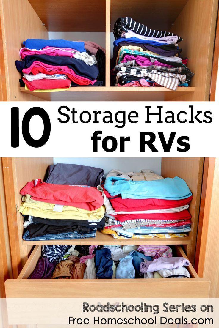10 Storage Hacks For RVs