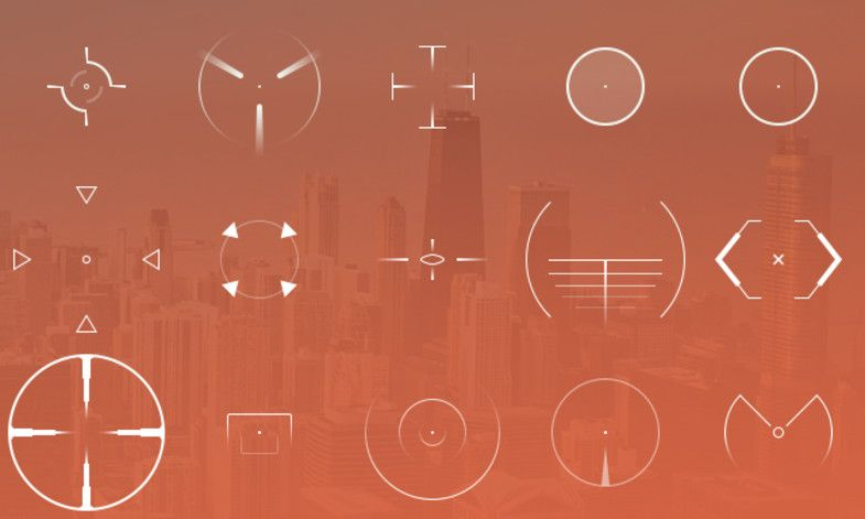 Mega Crosshair Pack Sponsored Spon Crosshair Mega Pack Icons Unity Icon Unity Asset Store