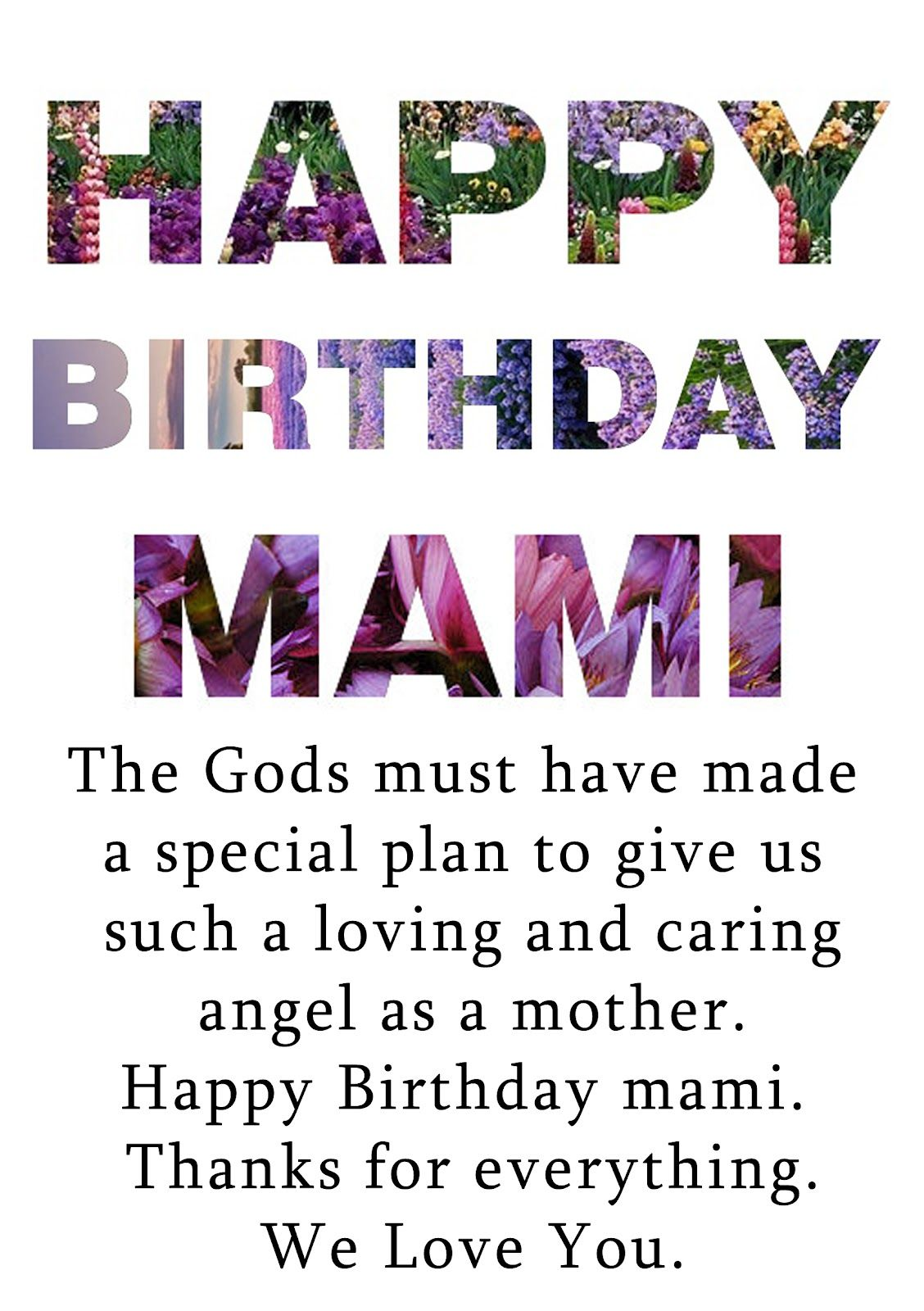Best Birthday Quotes For Mom. QuotesGram