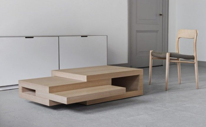 Genial The REK Is An Extending Coffee Table By Reinier De Jong Design And Is  Available In Oak Veneered, All White And White With Oak Wood Edges.
