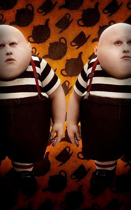 Jumeaux Alice Au Pays Des Merveilles : jumeaux, alice, merveilles, Burton,