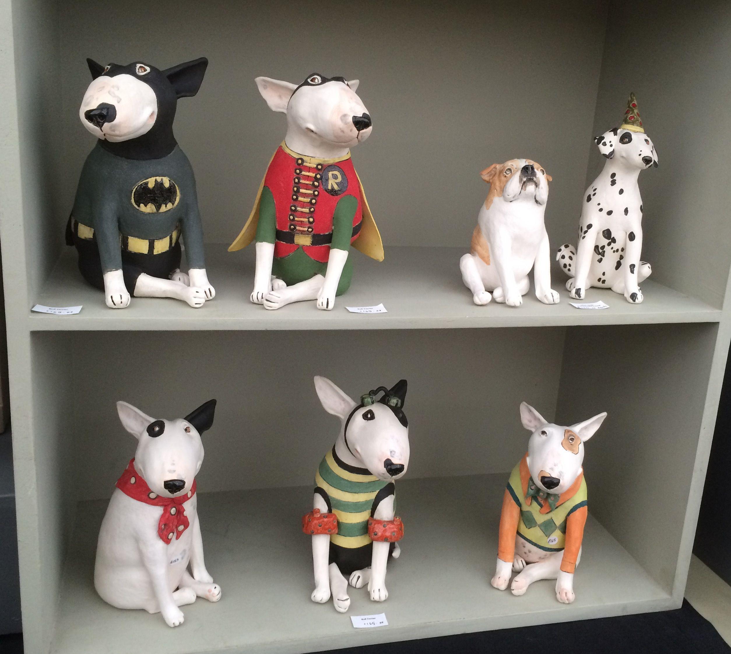 Joanne Cooke Uk Ceramic Sculptor Of Dogs Craftidea Org Bull Terrier Art Dog Sculpture Animal Sculptures