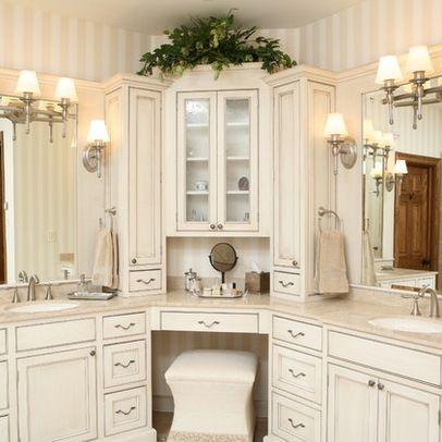 Corner Vanities Design Ideas Pictures Remodel And Decor Corner Bathroom Vanity Remodel Bedroom Bathroom Vanity Designs