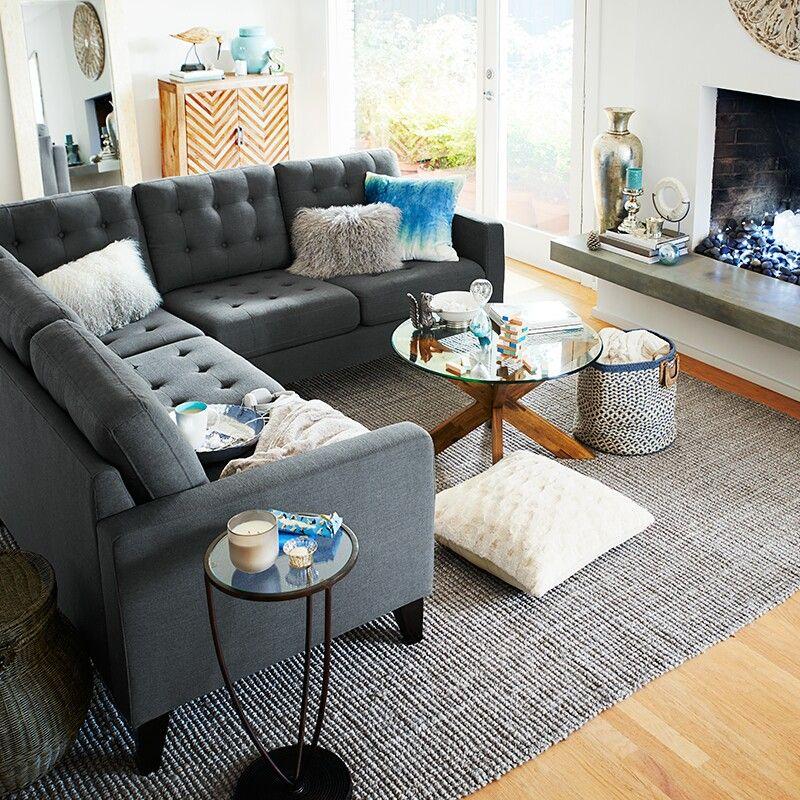 Pier one imports | Burgundy living room, Living room ...