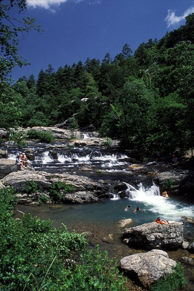 Little Missouri River Falls - Arkansas