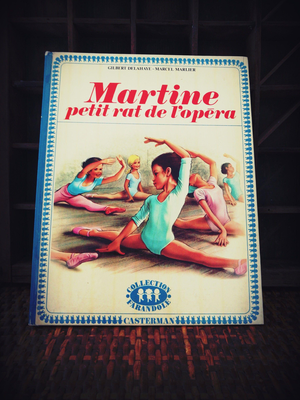 Livre Vintage Enfants Martine Petit Rat De L Opera