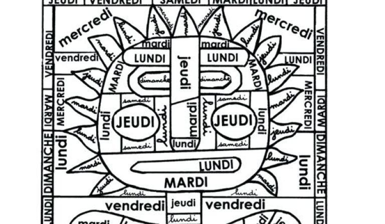 Coloriage Magique Anglais Jours.Pin On French